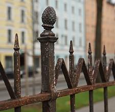Zaun am Ostbahnhof